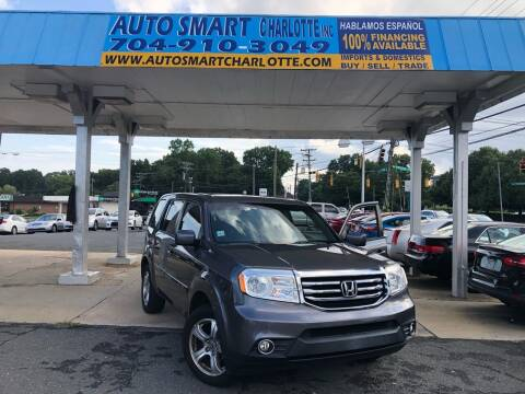 2014 Honda Pilot for sale at Auto Smart Charlotte in Charlotte NC
