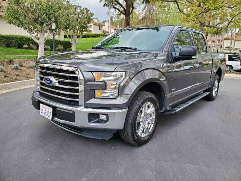 2016 Ford F-150 for sale at E MOTORCARS in Fullerton CA