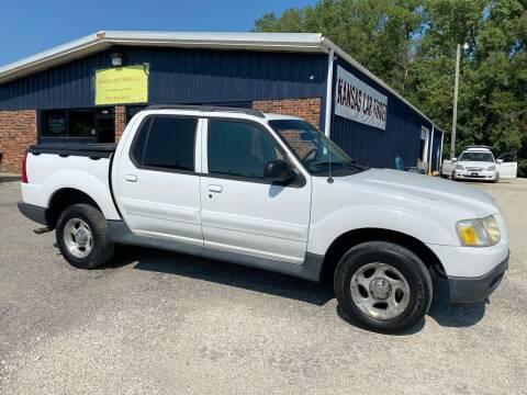 2003 Ford Explorer Sport Trac for sale at Kansas Car Finder in Valley Falls KS