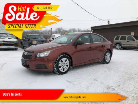 2012 Chevrolet Cruze for sale at Bob's Imports in Clinton IL