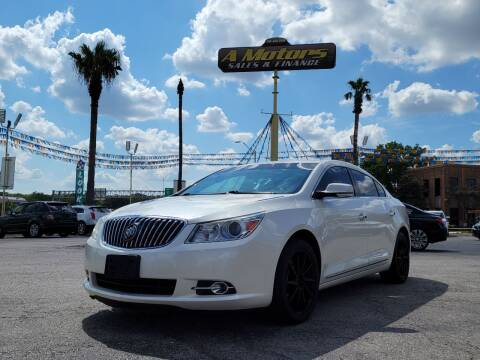 2013 Buick LaCrosse for sale at A MOTORS SALES AND FINANCE in San Antonio TX