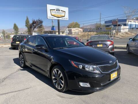2015 Kia Optima for sale at CarSmart Auto Group in Murray UT