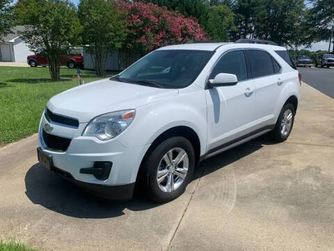 2013 Chevrolet Equinox for sale at Getsinger's Used Cars in Anderson SC