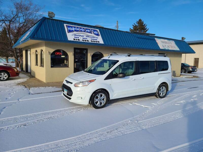 2014 Ford Transit Connect Wagon for sale at Dukes Auto Sales in Glyndon MN