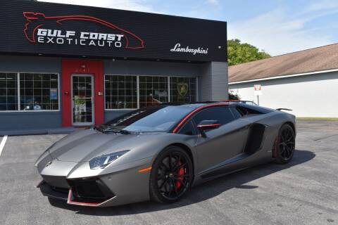 2016 Lamborghini Aventador for sale at Gulf Coast Exotic Auto in Biloxi MS