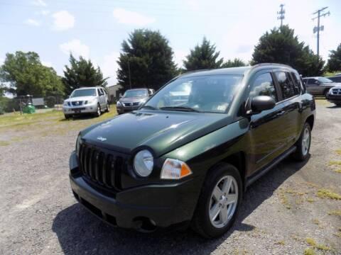 2010 Jeep Compass for sale at PERUVIAN MOTORS SALES in Warrenton VA