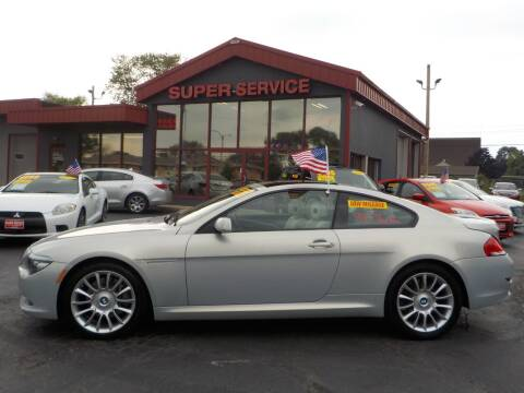 2008 BMW 6 Series for sale at Super Service Used Cars in Milwaukee WI
