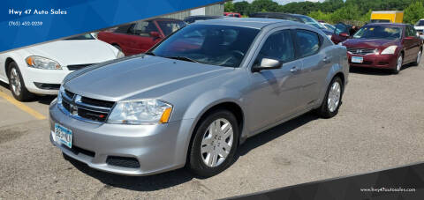 2014 Dodge Avenger for sale at Hwy 47 Auto Sales in Saint Francis MN