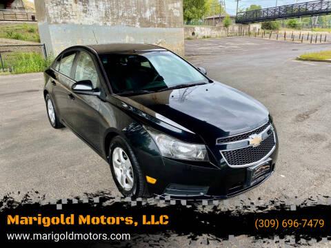 2012 Chevrolet Cruze for sale at Marigold Motors, LLC in Pekin IL