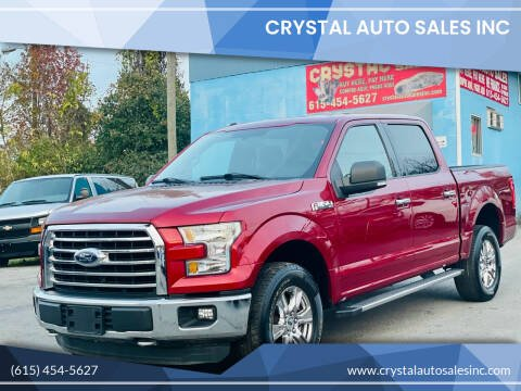 2016 Ford F-150 for sale at Crystal Auto Sales Inc in Nashville TN