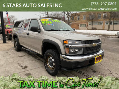 2006 Chevrolet Colorado for sale at 6 STARS AUTO SALES INC in Chicago IL