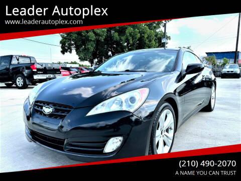 2011 Hyundai Genesis Coupe for sale at Leader Autoplex in San Antonio TX