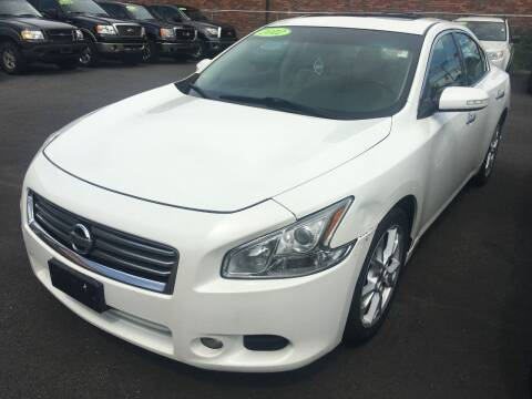 2012 Nissan Maxima for sale at Dijie Auto Sale and Service Co. in Johnston RI