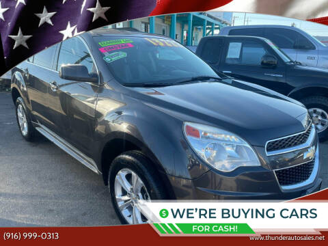 2015 Chevrolet Equinox for sale at Thunder Auto Sales in Sacramento CA