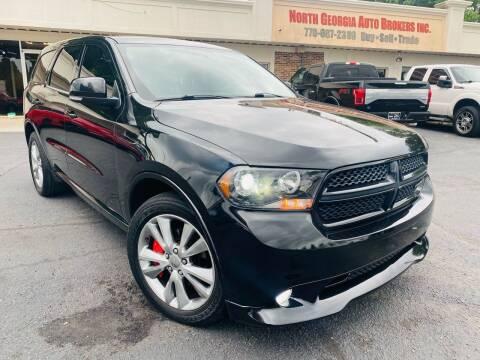 2012 Dodge Durango for sale at North Georgia Auto Brokers in Snellville GA
