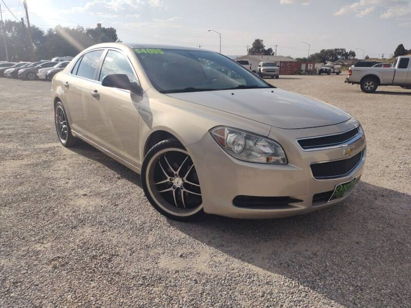 2010 Chevrolet Malibu for sale at Canyon View Auto Sales in Cedar City UT