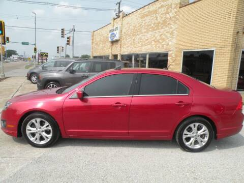 2012 Ford Fusion for sale at Kingdom Auto Centers in Litchfield IL