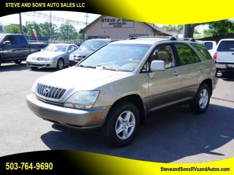 2002 Lexus RX 300 for sale at Steve & Sons Auto Sales in Happy Valley OR