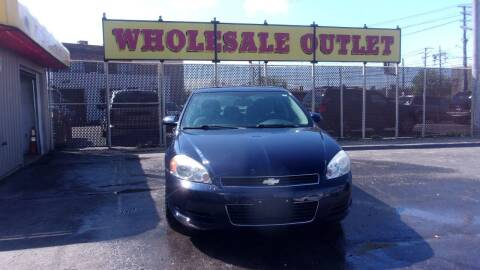 2009 Chevrolet Impala for sale at LONG BROTHERS CAR COMPANY in Cleveland OH