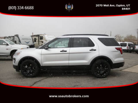2019 Ford Explorer for sale at S S Auto Brokers in Ogden UT