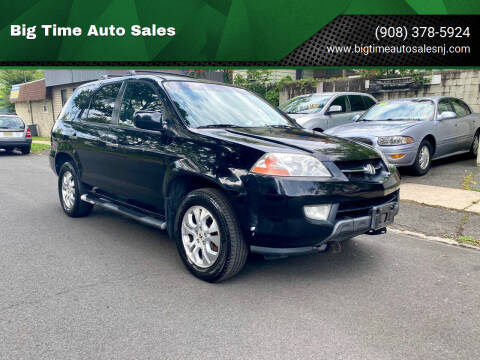 2003 Acura MDX for sale at Big Time Auto Sales in Vauxhall NJ