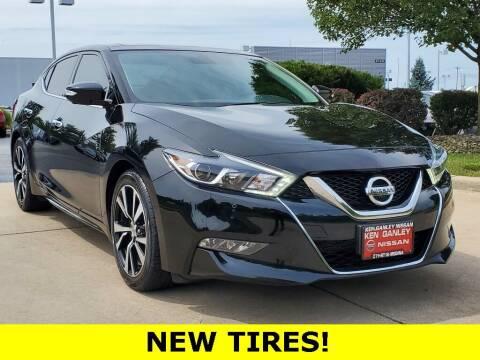 2018 Nissan Maxima for sale at Ken Ganley Nissan in Medina OH