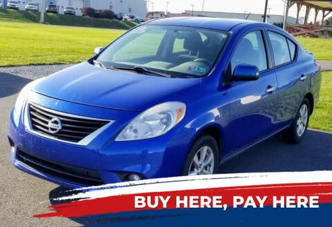 2013 Nissan Versa for sale at Lancaster Auto Detail & Auto Sales in Lancaster PA