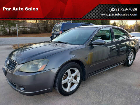 2005 Nissan Altima for sale at Par Auto Sales in Lenoir NC