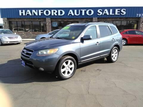 2007 Hyundai Santa Fe for sale at Hanford Auto Sales in Hanford CA