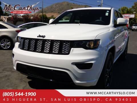 2018 Jeep Grand Cherokee for sale at McCarthy Wholesale in San Luis Obispo CA