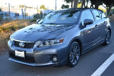 2012 Lexus CT 200h for sale at Brand Motors llc in Belmont CA