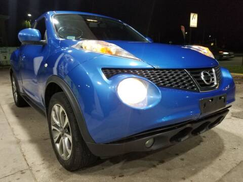 2011 Nissan JUKE for sale at WEST END AUTO INC in Chicago IL