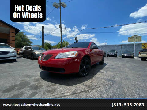 2007 Pontiac G6 for sale at Hot Deals On Wheels in Tampa FL