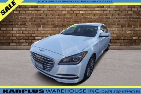 2017 Genesis G80 for sale at Karplus Warehouse in Pacoima CA