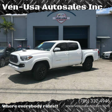 2018 Toyota Tacoma for sale at Ven-Usa Autosales Inc in Miami FL