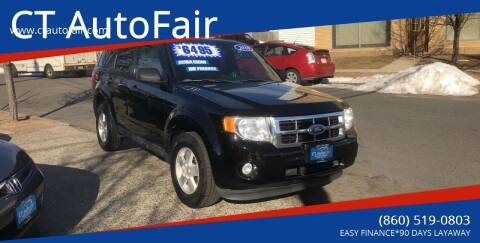 2010 Ford Escape for sale at CT AutoFair in West Hartford CT