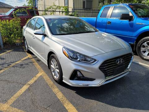 2018 Hyundai Sonata for sale at AW Auto & Truck Wholesalers  Inc. in Hasbrouck Heights NJ