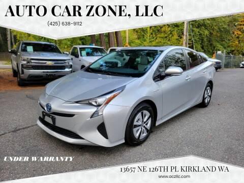 2017 Toyota Prius for sale at Auto Car Zone, LLC in Kirkland WA