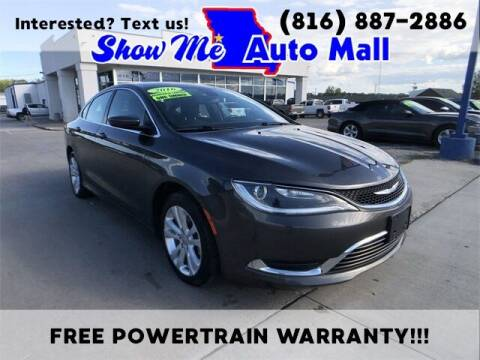 2016 Chrysler 200 for sale at Show Me Auto Mall in Harrisonville MO