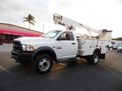 2018 RAM Ram Chassis 4500 for sale at Town Cars Auto Sales in West Palm Beach FL