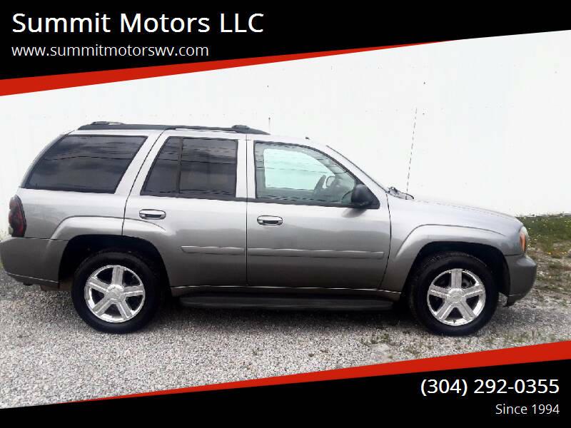 2008 Chevrolet TrailBlazer for sale at Summit Motors LLC in Morgantown WV
