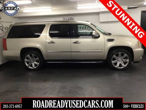 2013 Cadillac Escalade ESV for sale at Road Ready Used Cars in Ansonia CT