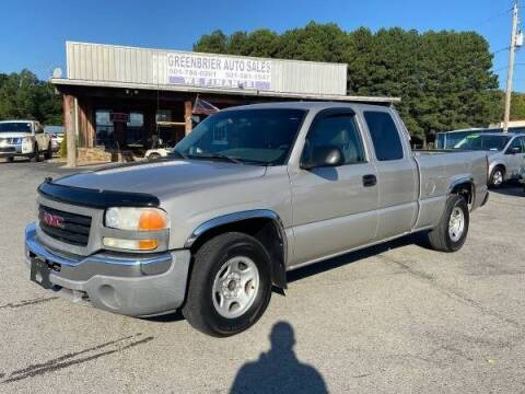 2004 GMC Sierra 1500 for sale at Greenbrier Auto Sales in Greenbrier AR