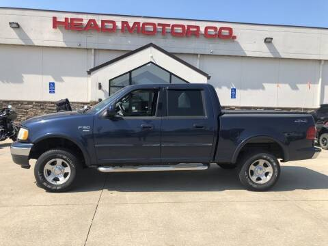 2003 Ford F-150 for sale at Head Motor Company - Head Indian Motorcycle in Columbia MO