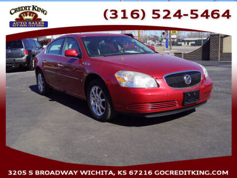 2008 Buick Lucerne for sale at Credit King Auto Sales in Wichita KS