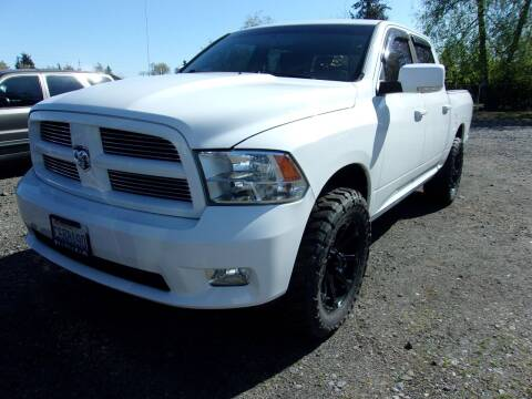 2012 RAM Ram Pickup 1500 for sale at PJ's Auto Center in Salem OR
