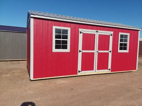 2021 PREMIER Portable Building's 10x20 Urethane Side Utility for sale at Dave's Auto Sales & Service in Weyauwega WI