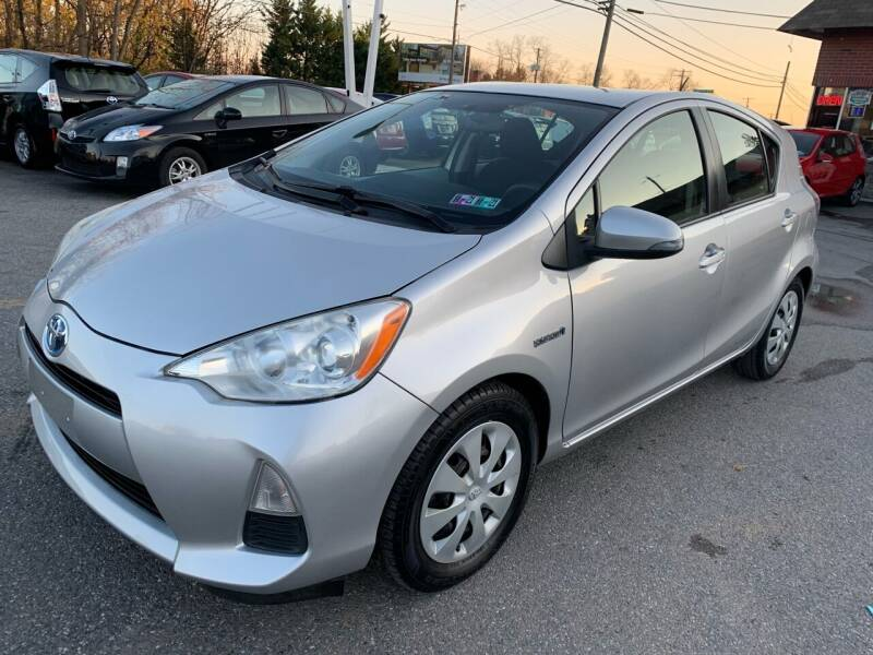 2012 Toyota Prius c for sale at Sam's Auto in Akron PA