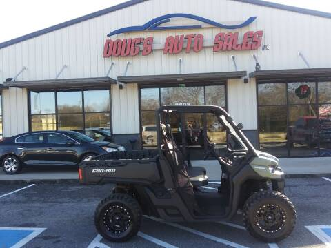 2017 Can Am Defender for sale at DOUG'S AUTO SALES INC in Pleasant View TN
