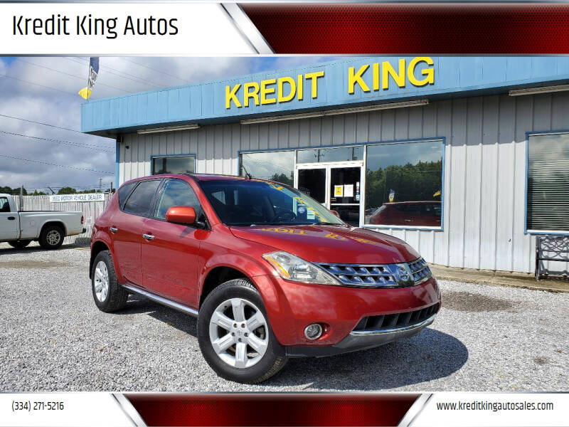 2006 Nissan Murano for sale at Kredit King Autos in Montgomery AL